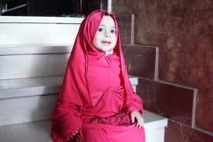 Arab egyptian muslim baby girl Stock Photo