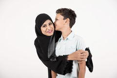 Arab Family royalty free stock photography