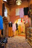 Arab fashion shop Royalty Free Stock Photos