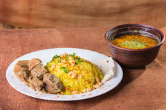 Arab food Stock Photography