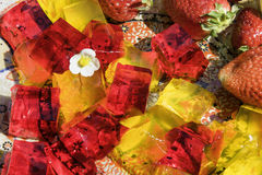 Arab fruit jelly Royalty Free Stock Images