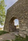 Arab gate on the walls of Medinaceli, Spain Royalty Free Stock Photography