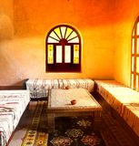 Arab home. Inside traditional, luxury arab home Royalty Free Stock Photo