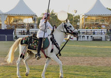 Arab Horseman Stock Photography