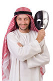 Arab in hypocrisy concept Stock Image