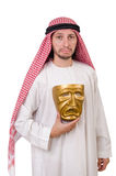 Arab in hypocrisy concept Royalty Free Stock Photo