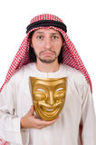 Arab in hypocrisy concept Royalty Free Stock Image