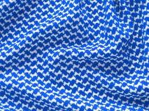 Arab keffiyah pattern. Stock Images