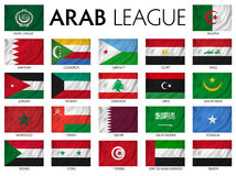 Arab League. Arab member countries Stock Photo