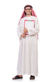 Arab man with binder Stock Images