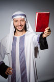 Arab man with book Stock Image