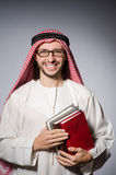 Arab man with book Stock Photography