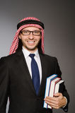 Arab man with book Stock Photo