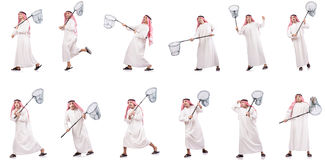 The arab man Stock Photos