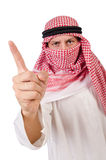 Arab man. In diversity concept Royalty Free Stock Images
