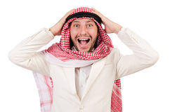 Arab man. In diversity concept Stock Image