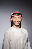 Arab man in diversity Stock Image