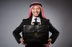 Arab man in diversity Stock Images