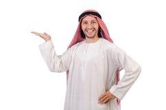 Arab man in diversity Stock Image