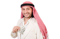 Arab man in diversity Royalty Free Stock Image