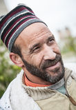 Arab Man with his usual costume Royalty Free Stock Image