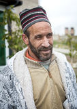 Arab Man with his usual costume Royalty Free Stock Photography