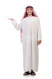 Arab man  holding hands Royalty Free Stock Photos