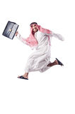 Arab man isolated Stock Images