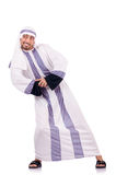 Arab man isolated Stock Photography