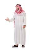 Arab man. Isolated on white Stock Image