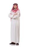 Arab man. Isolated on white Royalty Free Stock Photo