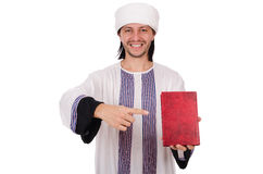 Arab man isolated Stock Image