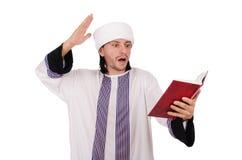 Arab man isolated Stock Photo