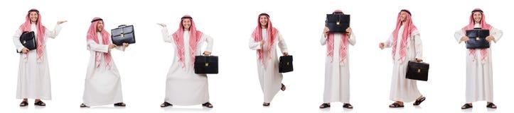 The arab man isolated on white background Stock Photo