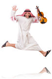 Arab man playing violing Stock Image