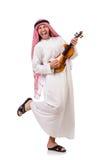 Arab man playing violing Stock Photos