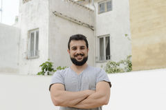 Arab man posing Stock Images
