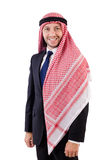Arab man in positive concept Stock Image