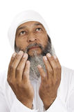 Arab Man praying Stock Photo