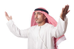 Arab man praying Stock Image