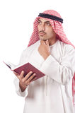Arab man praying Stock Photography