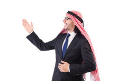 Arab man in specs Royalty Free Stock Photography