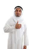 Arab man success Royalty Free Stock Photo