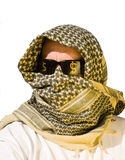 Arab man with sunglasses on Stock Images
