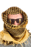Arab man with sunglasses Stock Photos