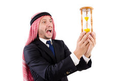 Arab man thinking Royalty Free Stock Photography