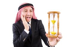 Arab man thinking Stock Image