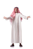 Arab man  on white Stock Images