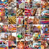 Arab market Royalty Free Stock Photography