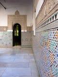 Arab moorish door Stock Image